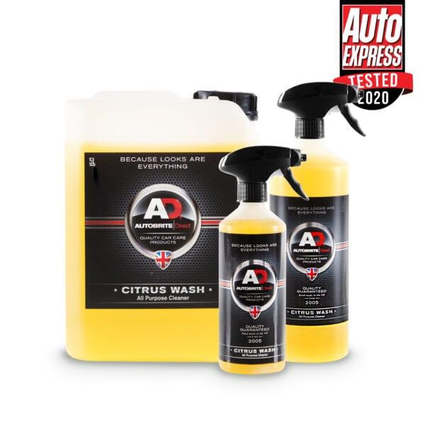 citrus wash car shampoo