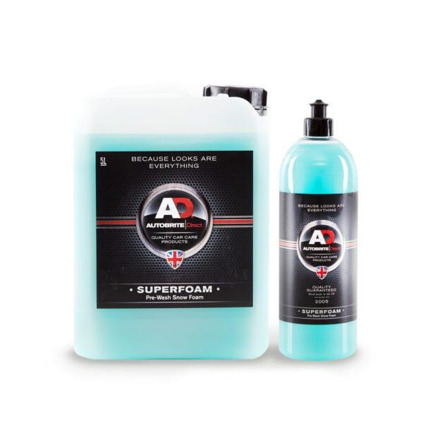 superfoam snow foam car shampoo