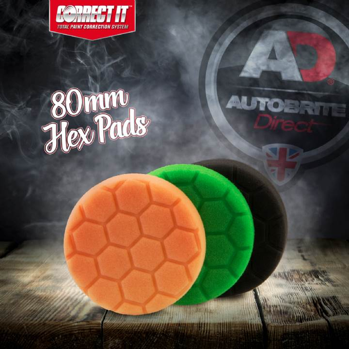 80mm hex pads