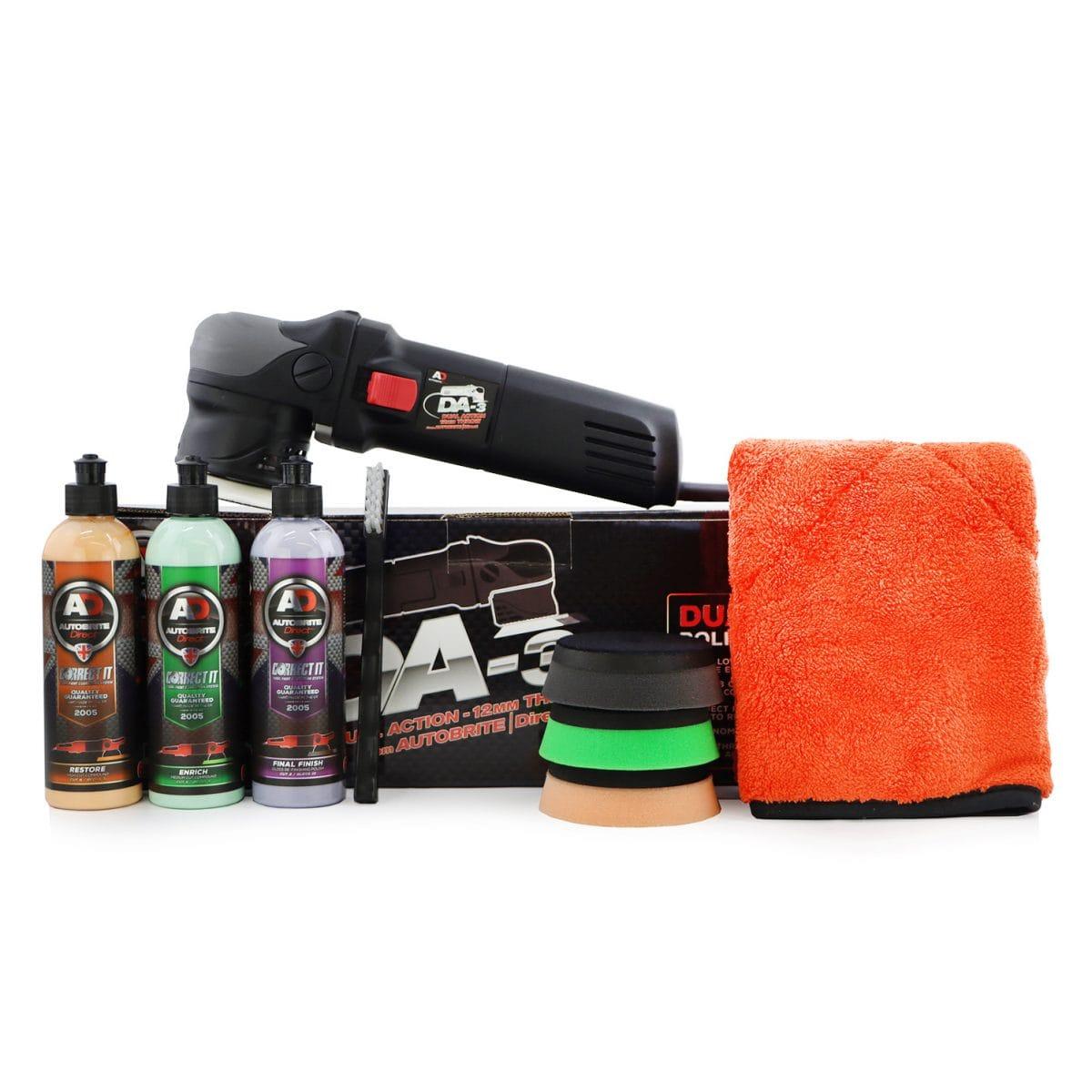car polish kit for paint correction