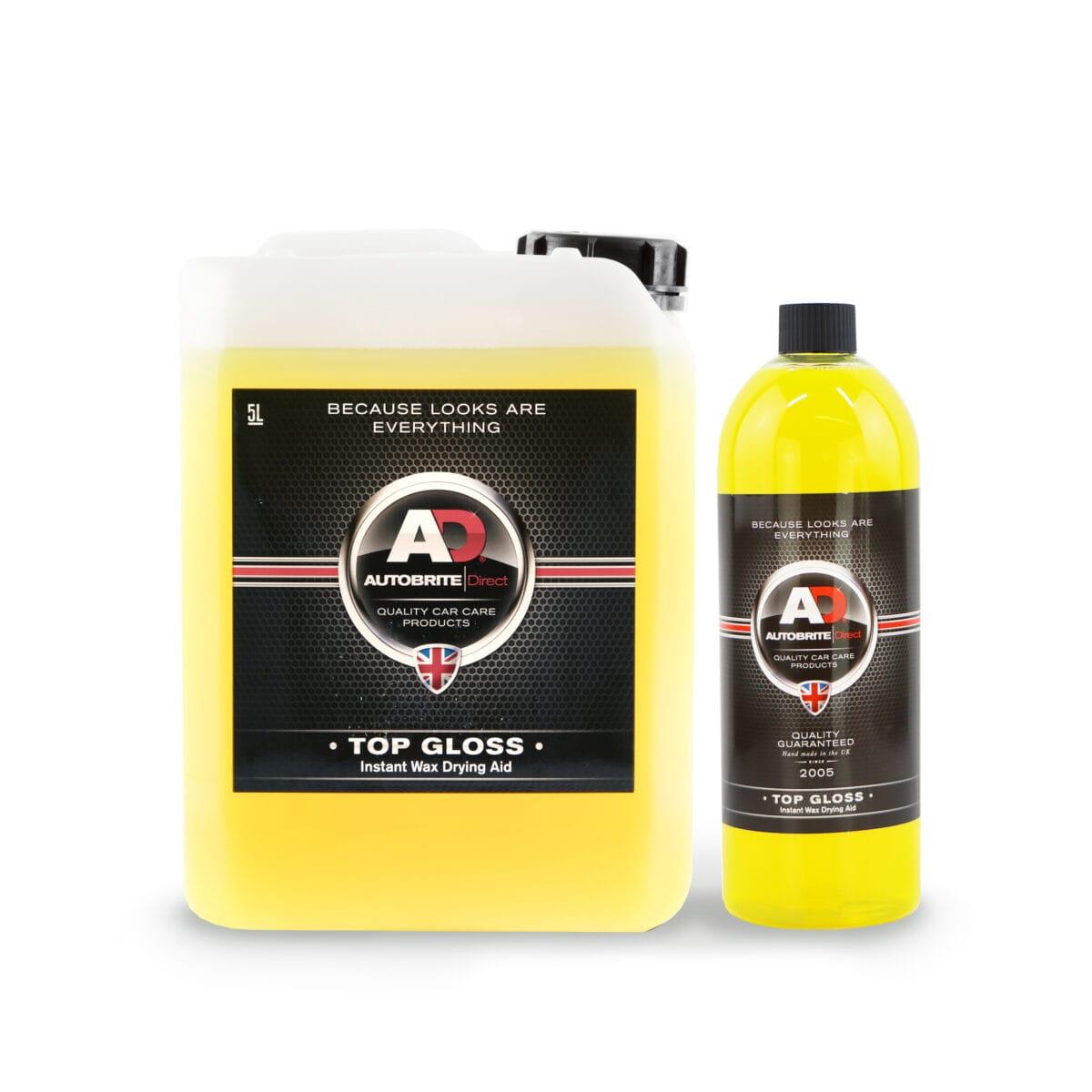 top gloss car wax drying aid