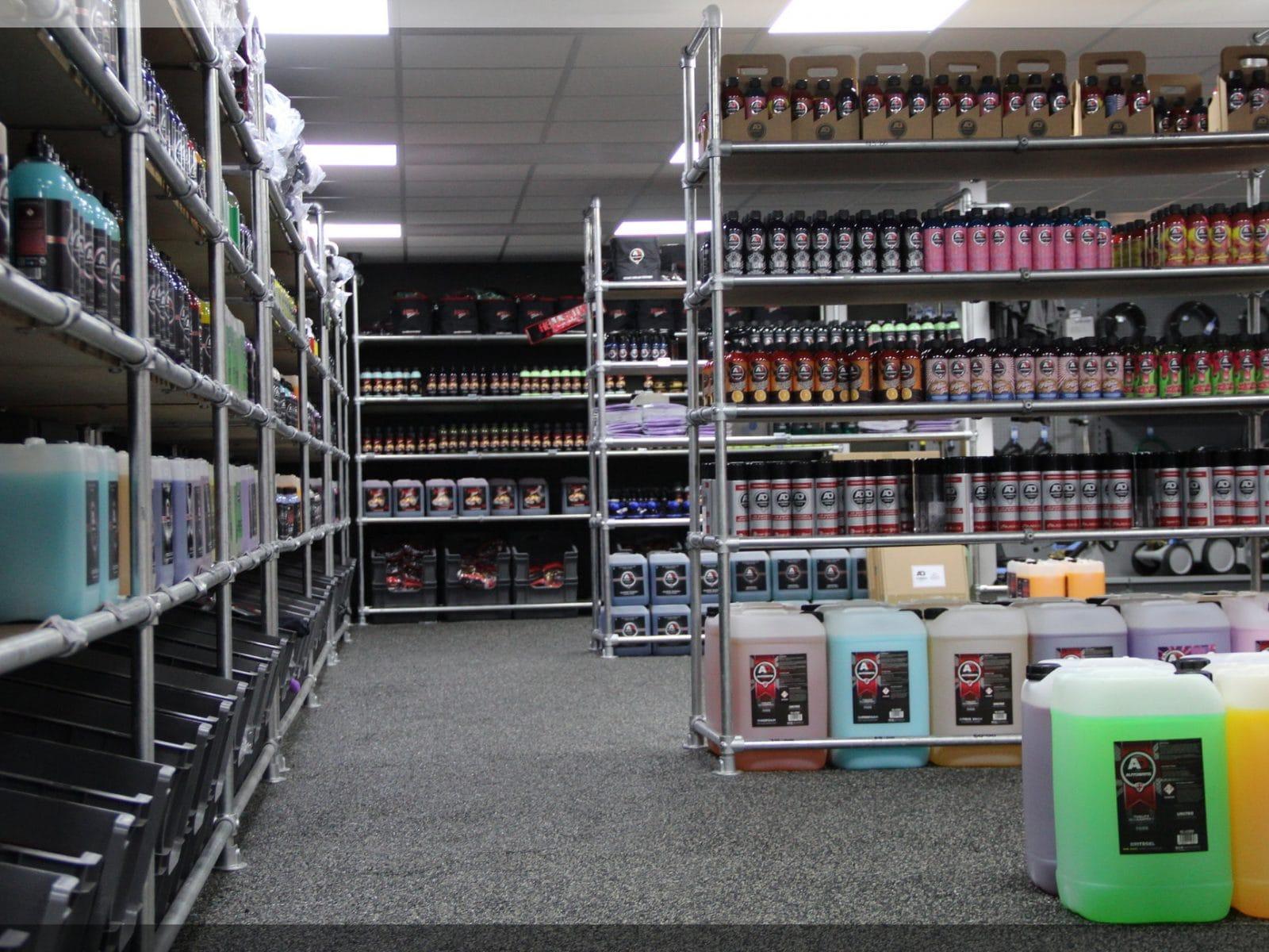 autobrite shop floor