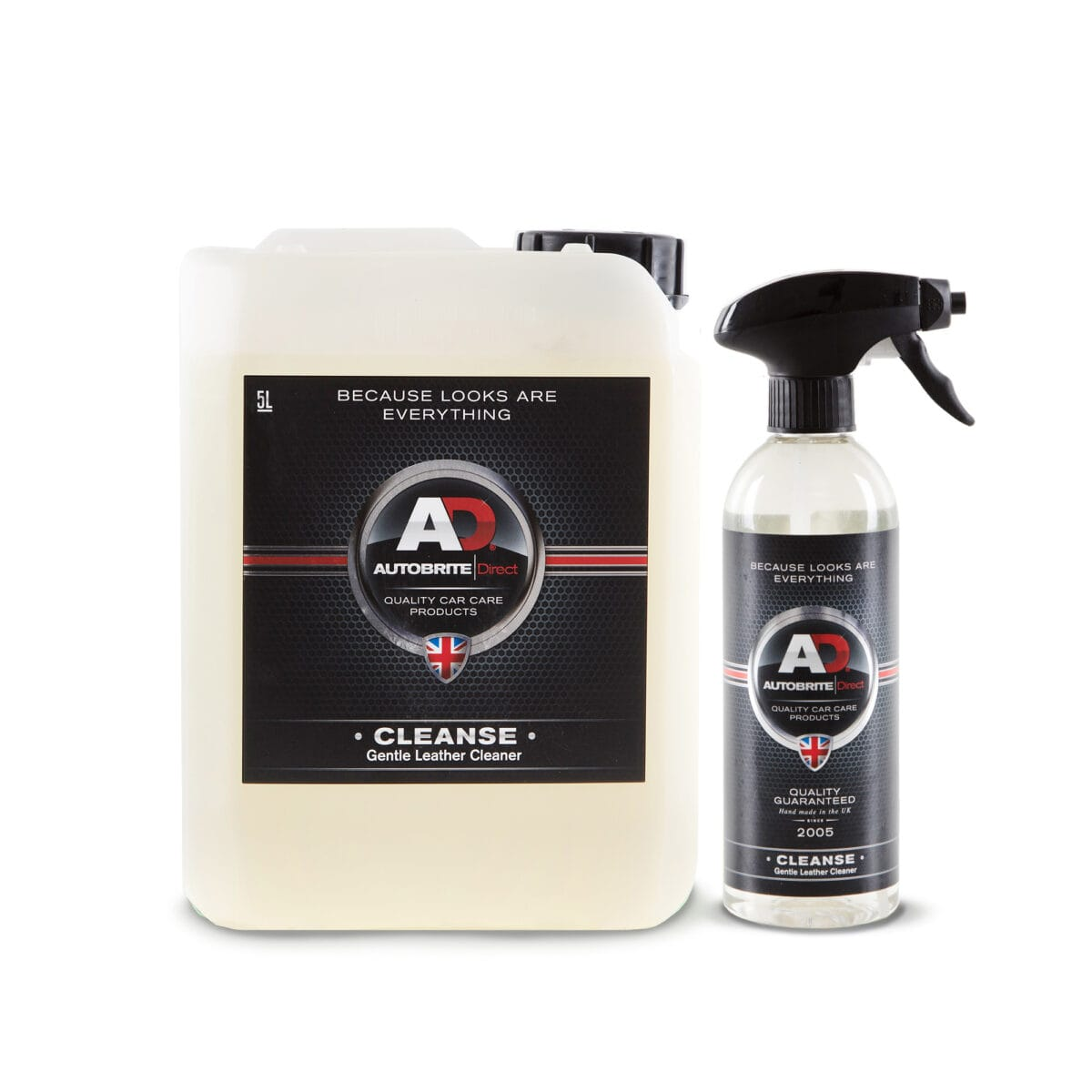 Cleanse gentle leather cleaner