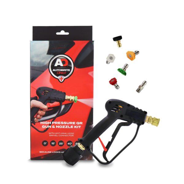 Gun and nozzle kit