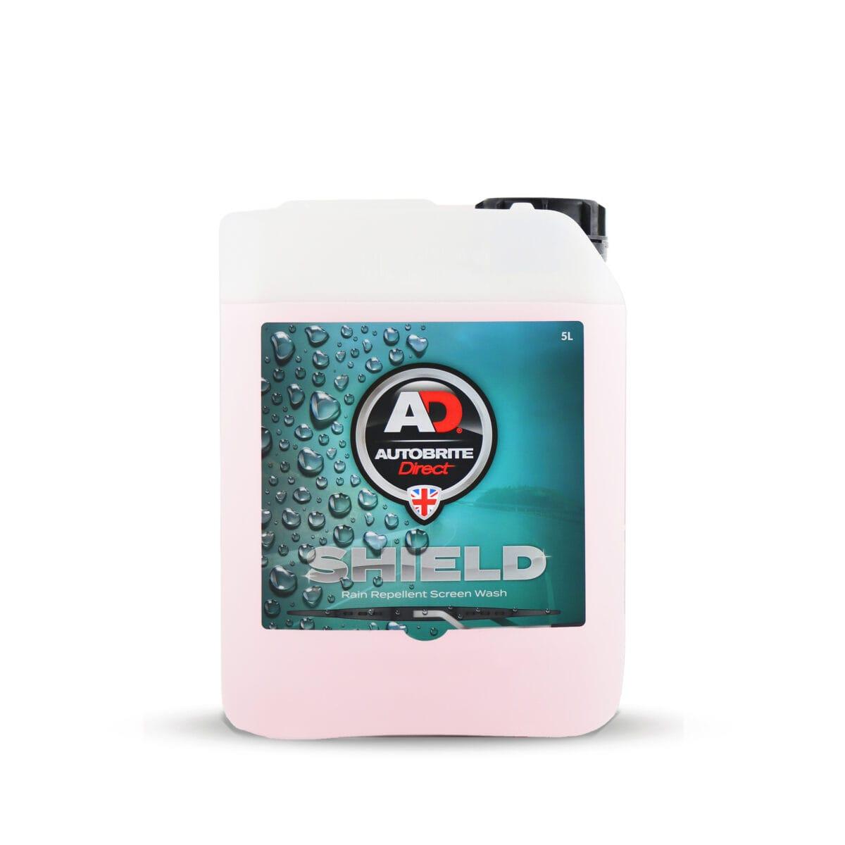 Shield screenwash