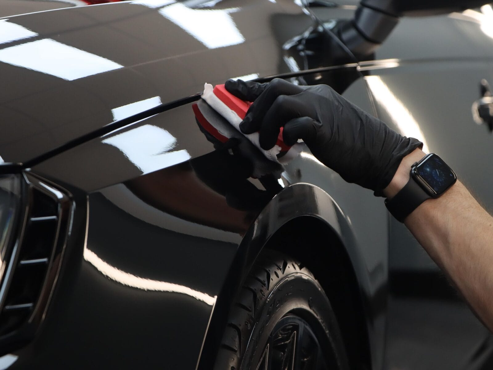 ceramic coating a car