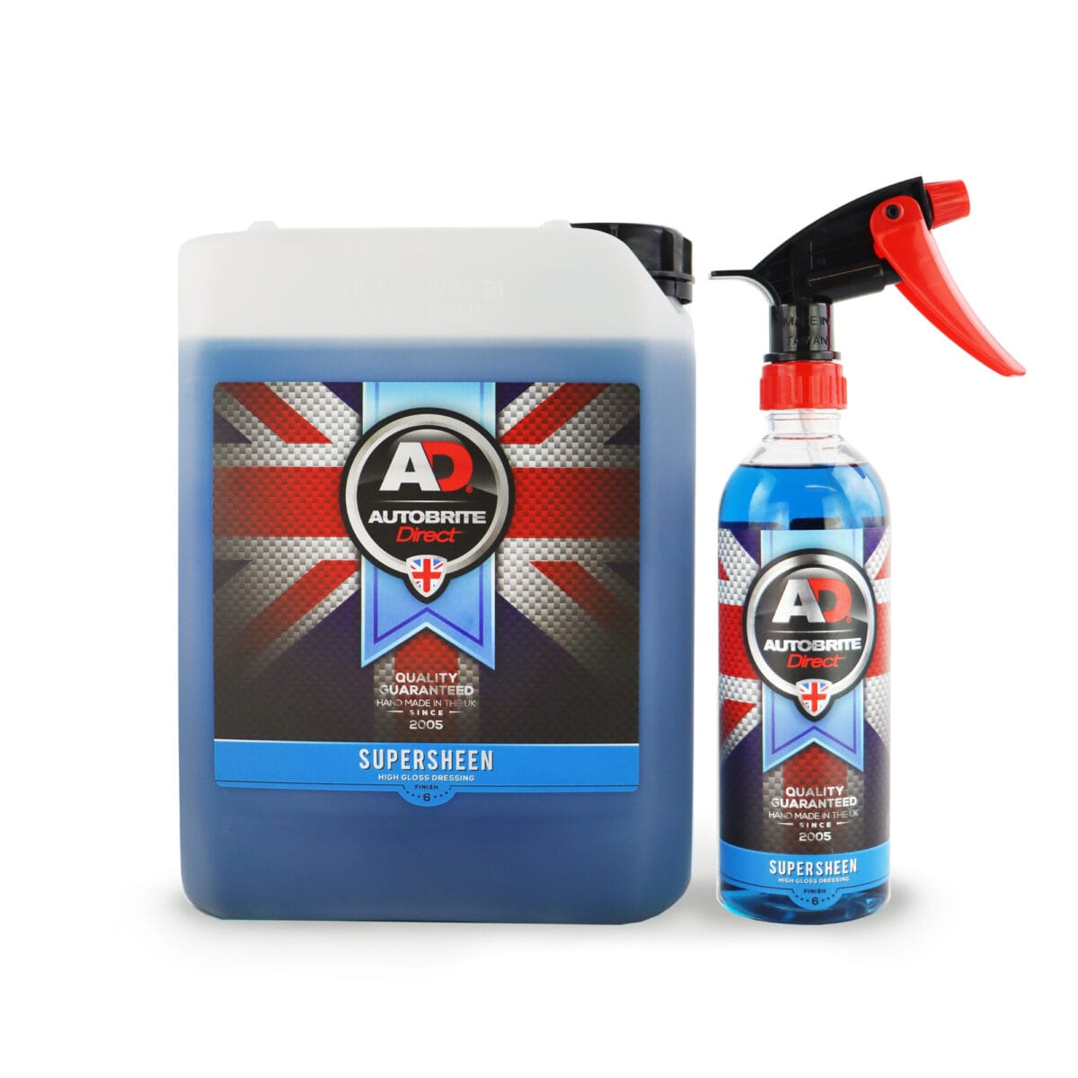 supersheen 5 ltr and 500 ml